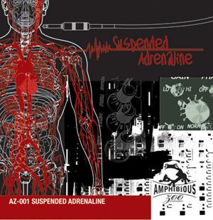 AZ001 Suspended Adrenaline Cover Art